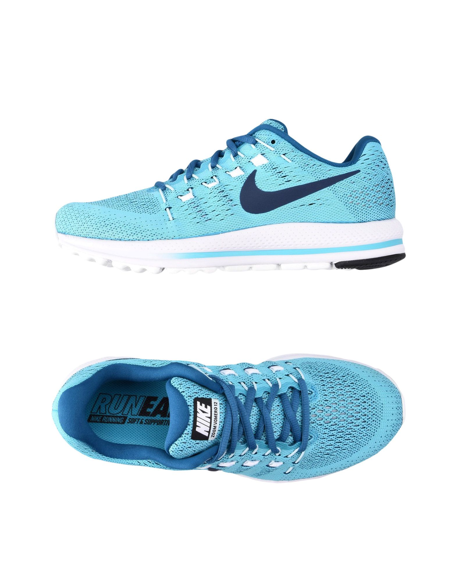 Sneakers Nike  Air Zoom Vomero 12 - Homme - Sneakers Nike  Turquoise Remise de marque