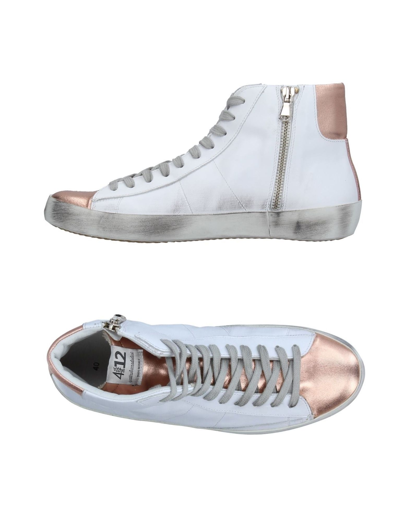 Quattrobarradodici Sneakers Damen  11266072AG Gute Qualität beliebte Schuhe