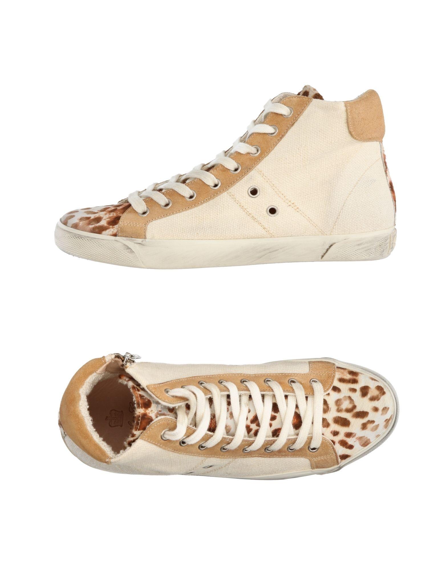 Leather Crown Sneakers Damen  11266440UE Gute Qualität beliebte Schuhe