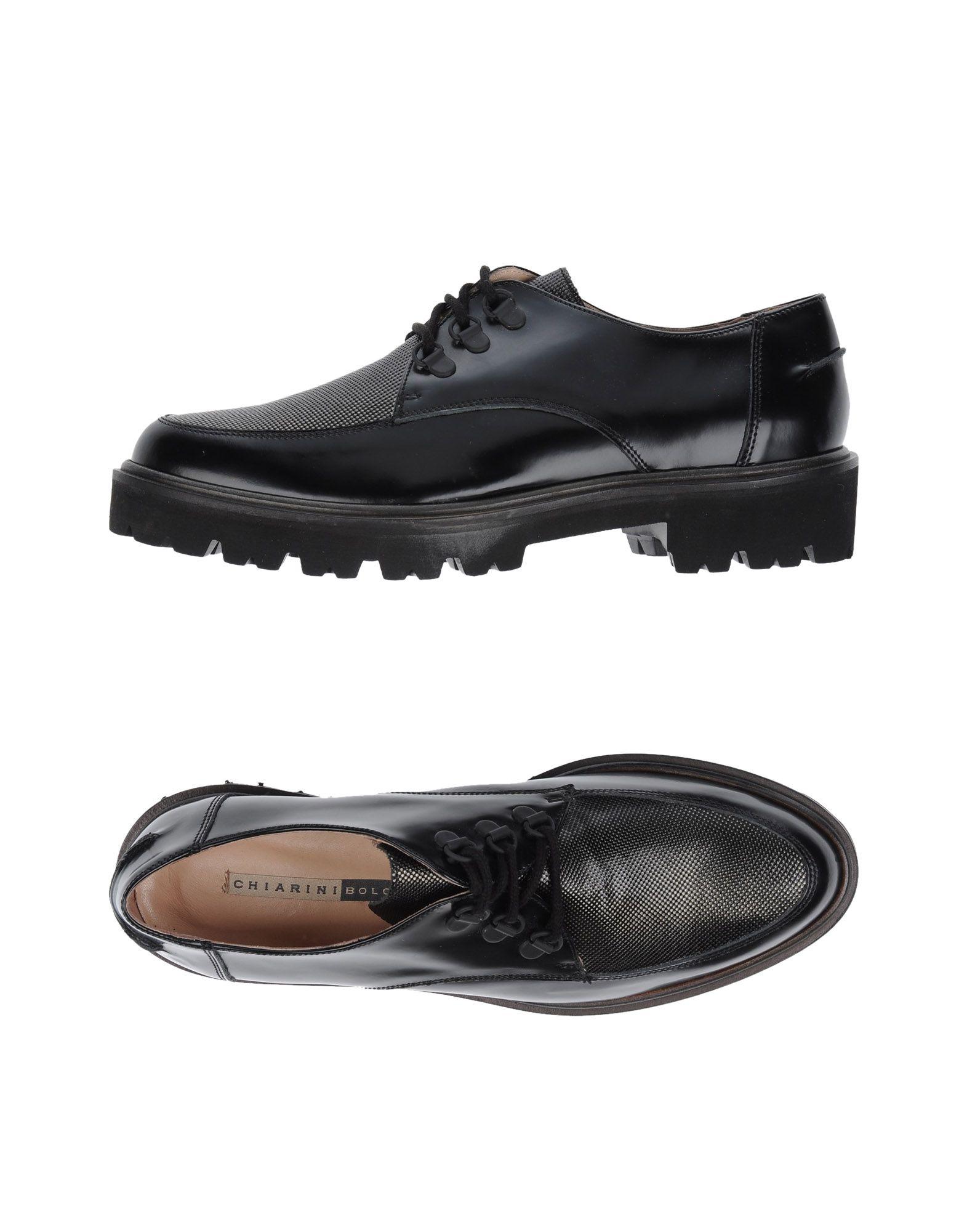 Venta de liquidación de temporada Zapato De Cordones De Chiarini Bologna Mujer - Zapatos De Cordones Cordones Chiarini Bologna  Negro 834c34
