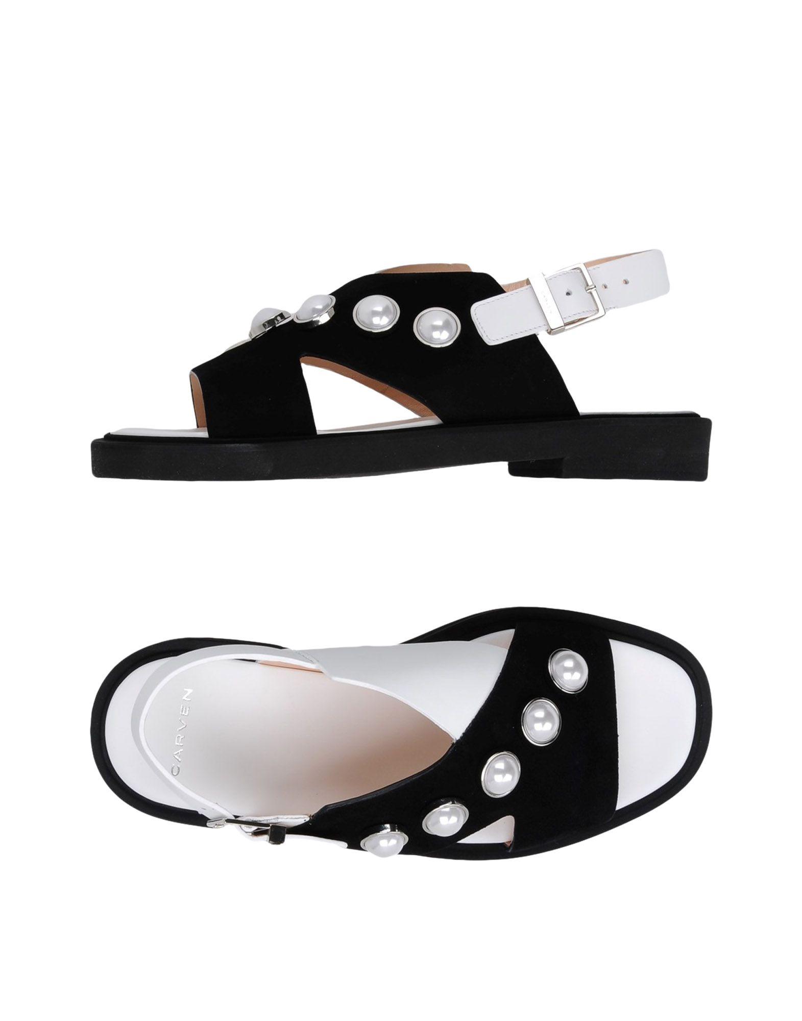Rabatt Schuhe Carven Sandalen Damen  11267107XP