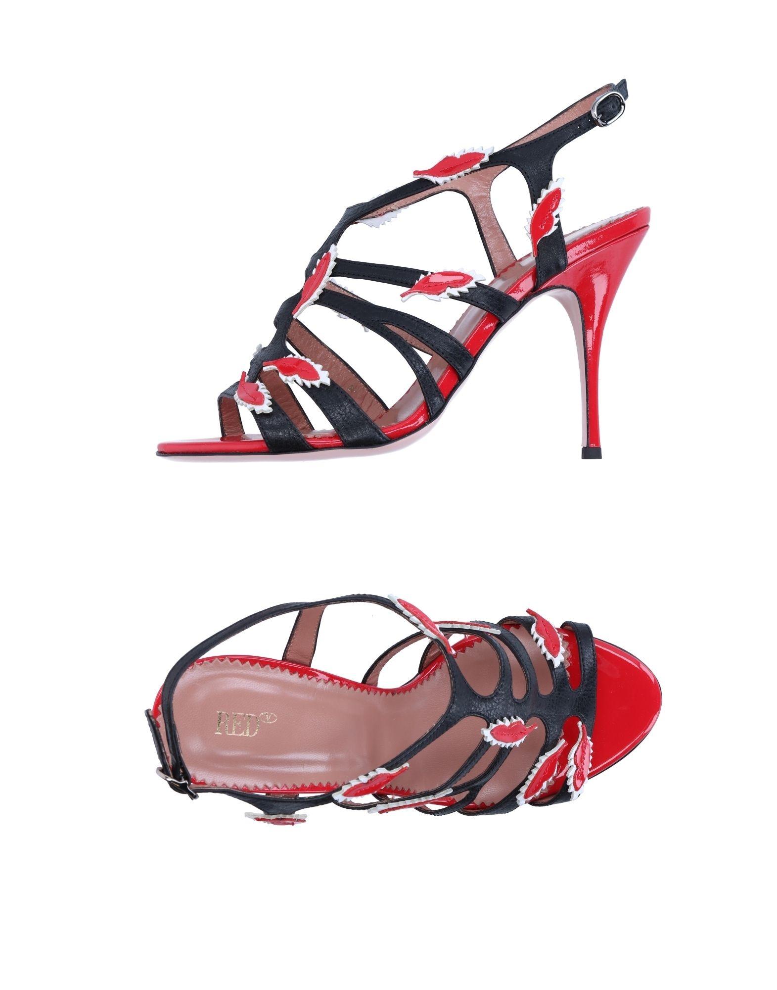 Haltbare Mode billige Schuhe Red(V) Sandalen Damen  11267583MN Heiße Schuhe