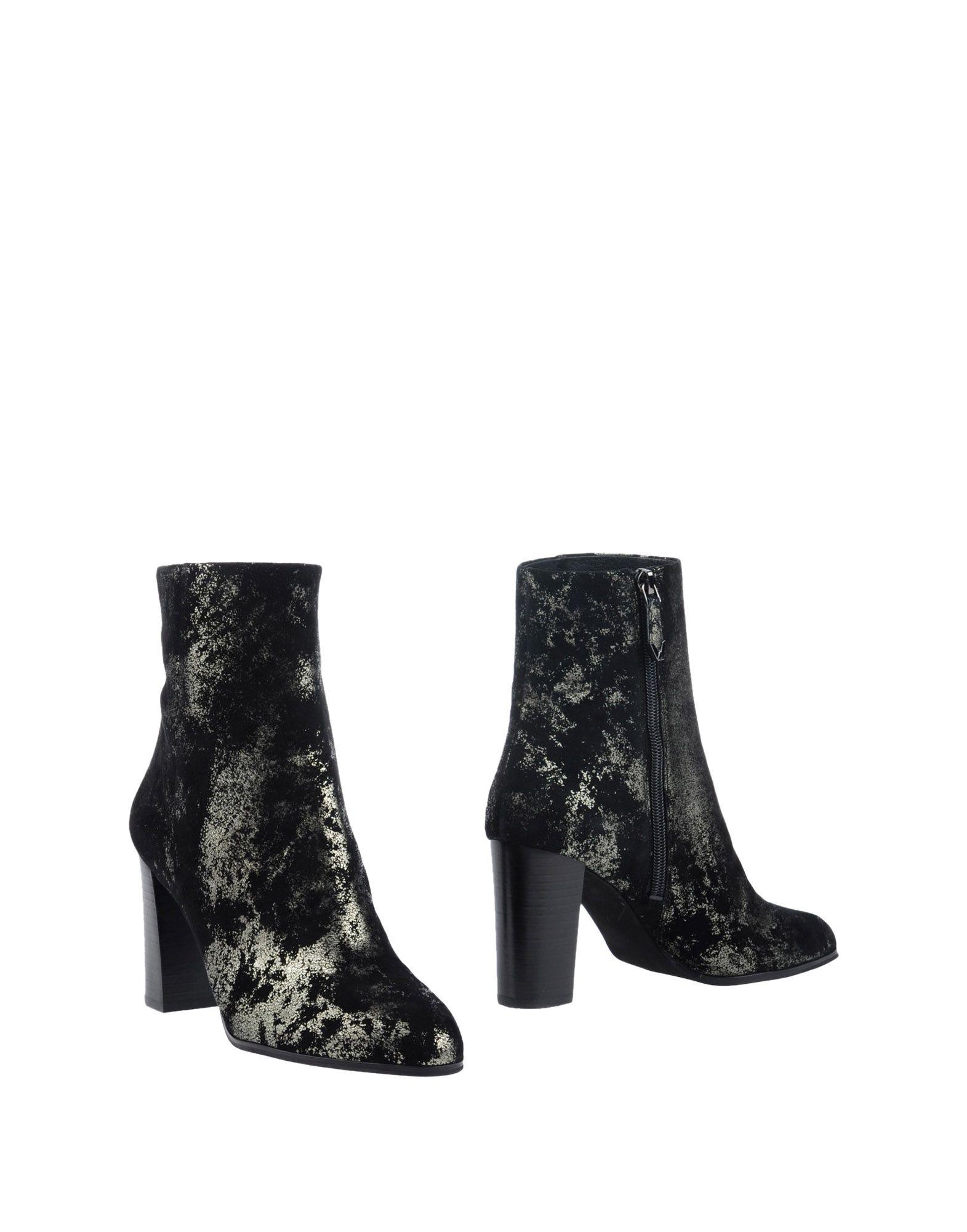 What For Stiefelette Damen  11268028SW Gute Qualität beliebte Schuhe