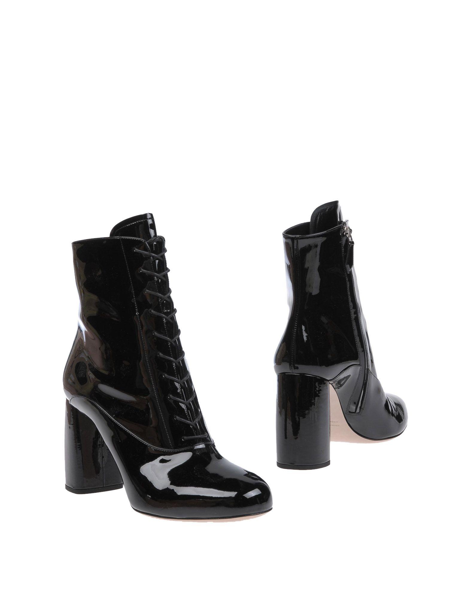 Miu Miu Stiefelette gut Damen  11268290QPGünstige gut Stiefelette aussehende Schuhe ce6f27