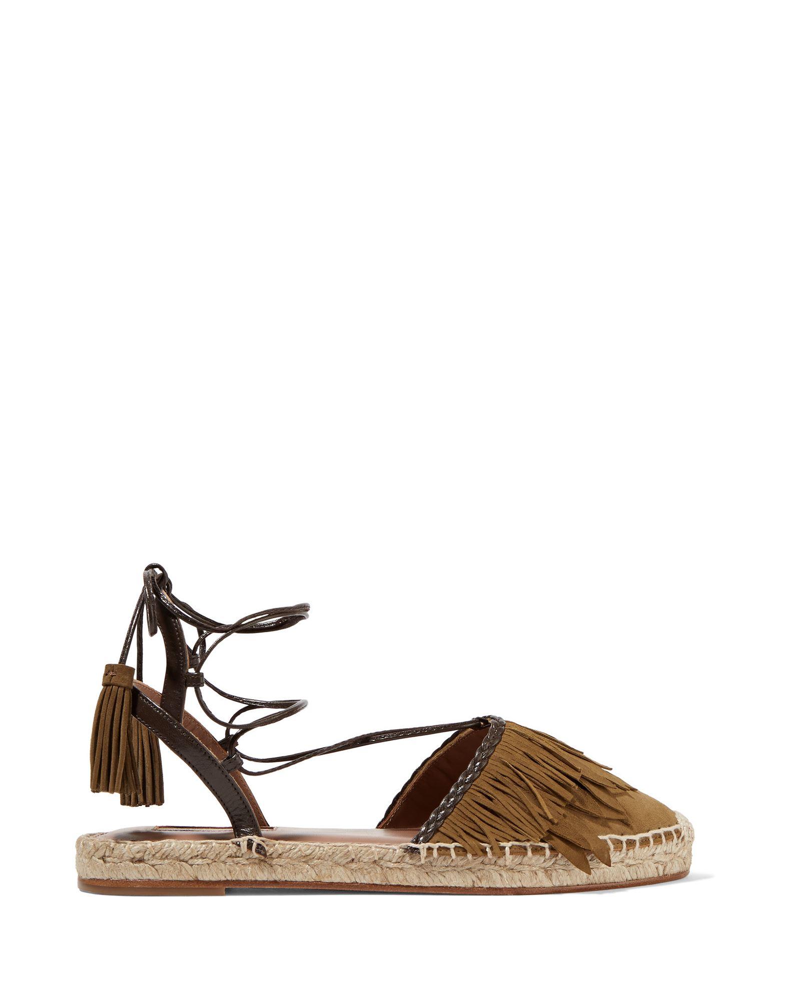 Aquazzura Espadrilles Damen  11268706IVGut aussehende strapazierfähige Schuhe