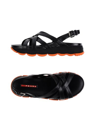 df760705a179 PRADA SPORT · Prada Sport Sandals - Women Prada Sport Sandals online on YOOX  United States ...