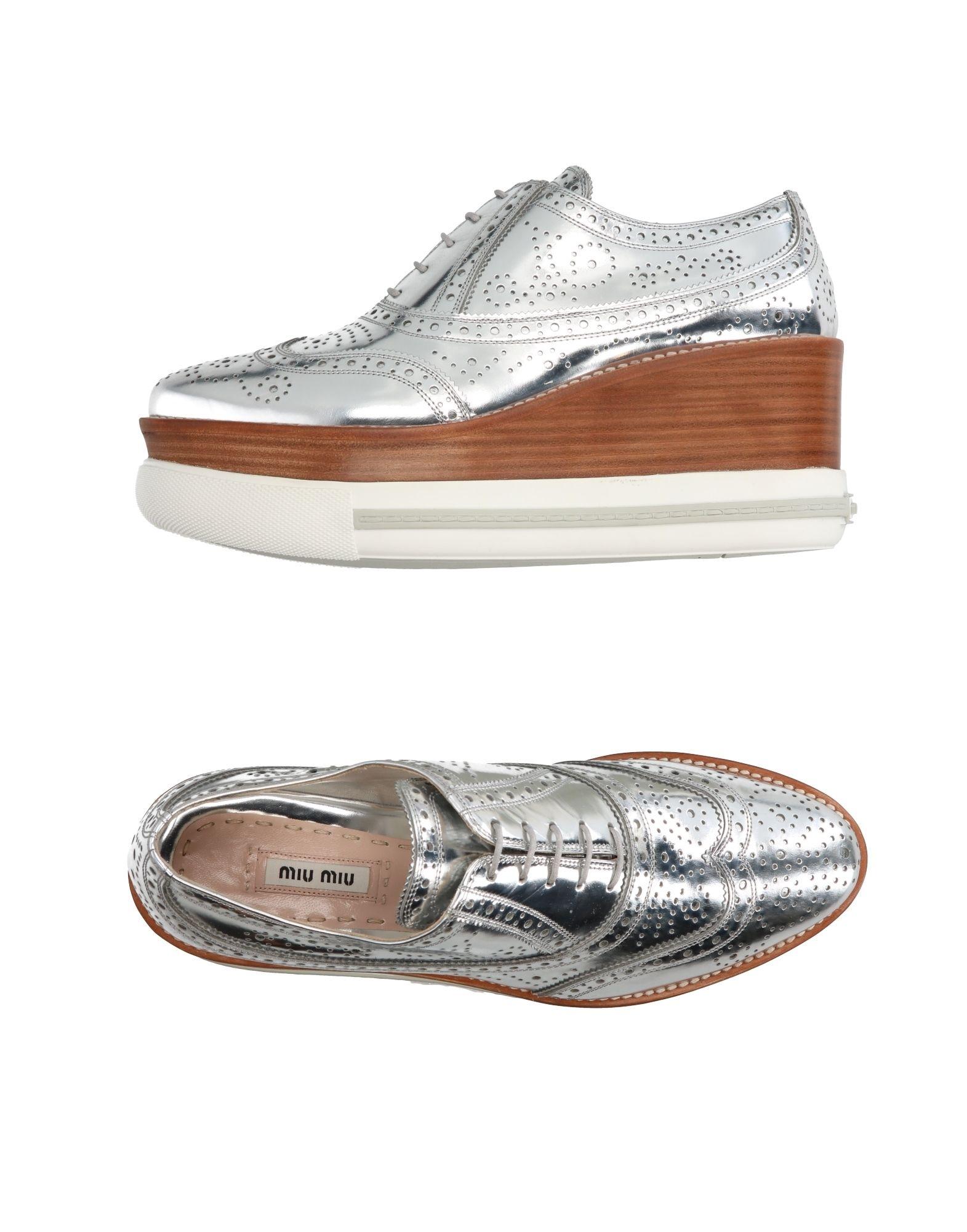 Miu Miu Schnürschuhe Damen  Schuhe 11270099ECGünstige gut aussehende Schuhe  7f69cf