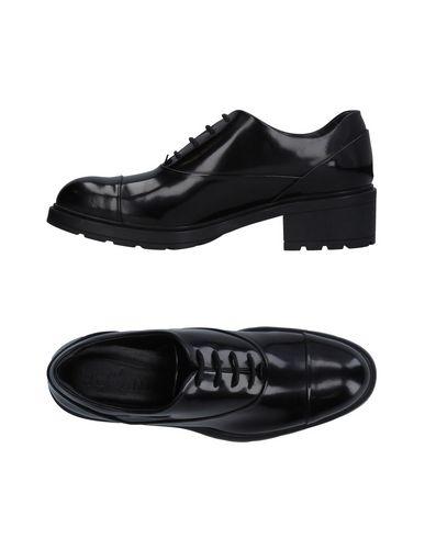 Cómodo y bien parecido Zapato De Cordones Hogan Mujer - Zapatos De Cordones Hogan   - 11270544PD Negro