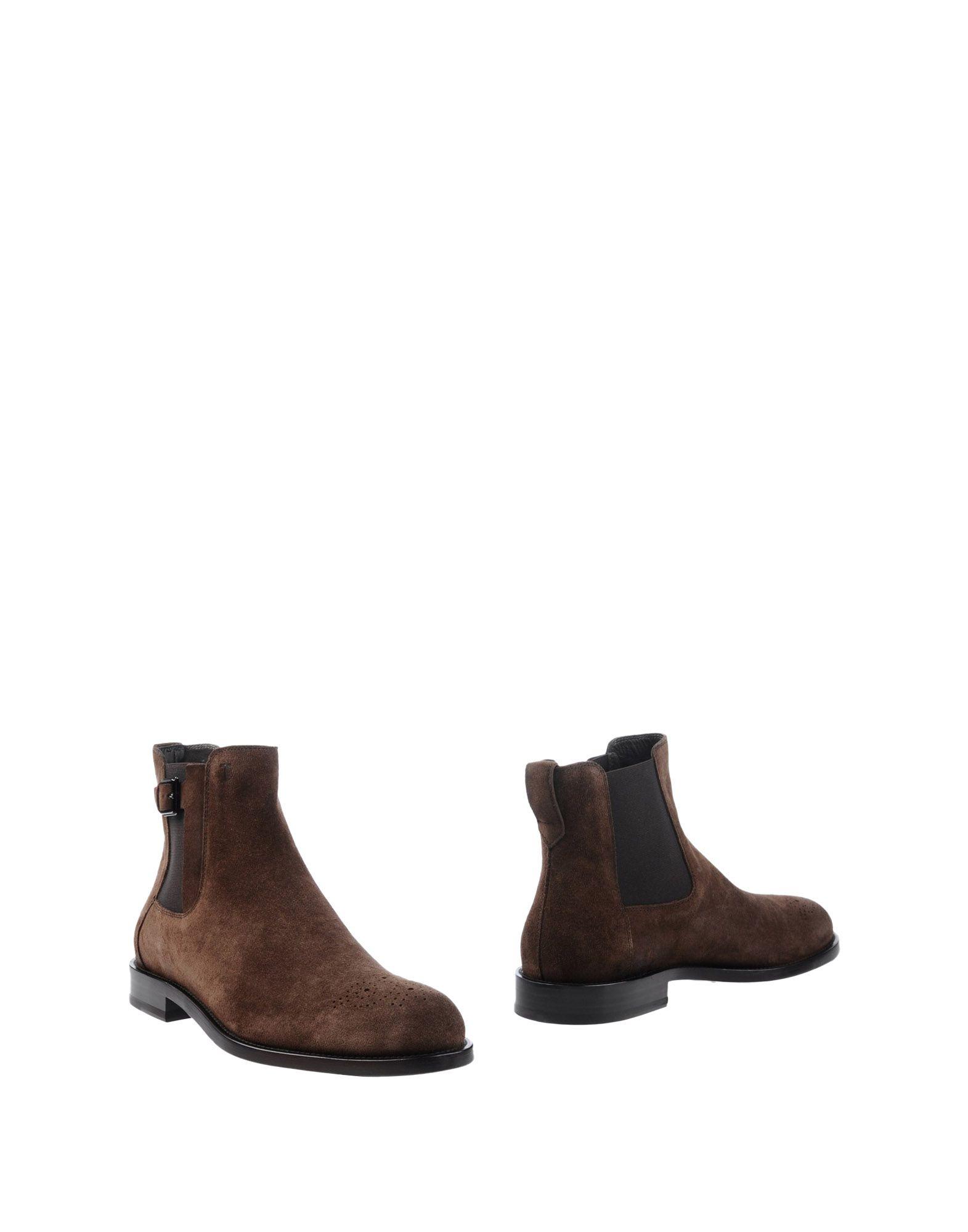 Bottine Tod's Homme - Bottines Tod's  Moka Chaussures femme pas cher homme et femme