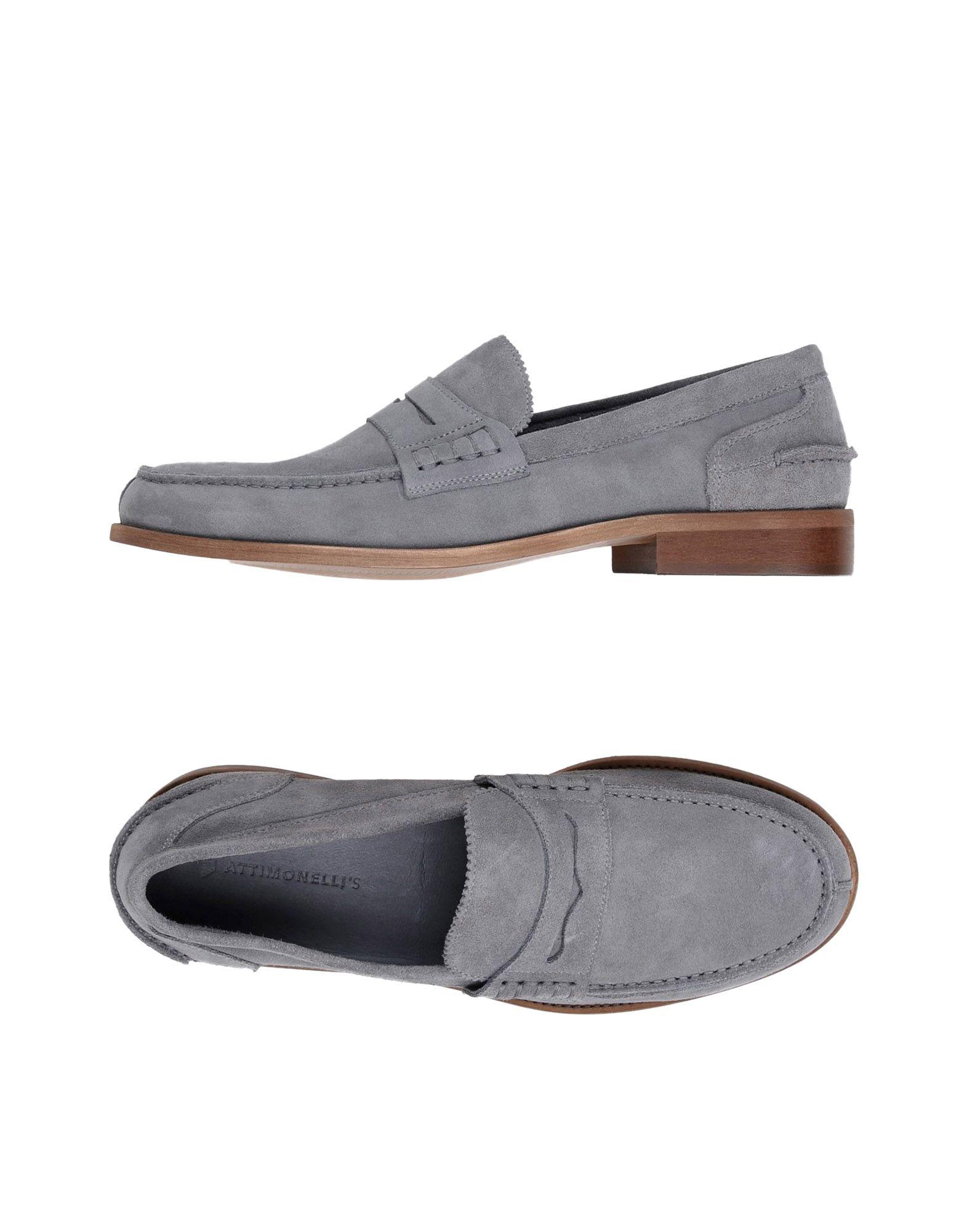 Rabatt echte Schuhe Attimonelli's Mokassins Herren  11270920BM