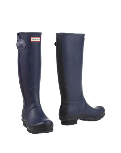 HUNTER Boots, Dark Blue | ModeSens
