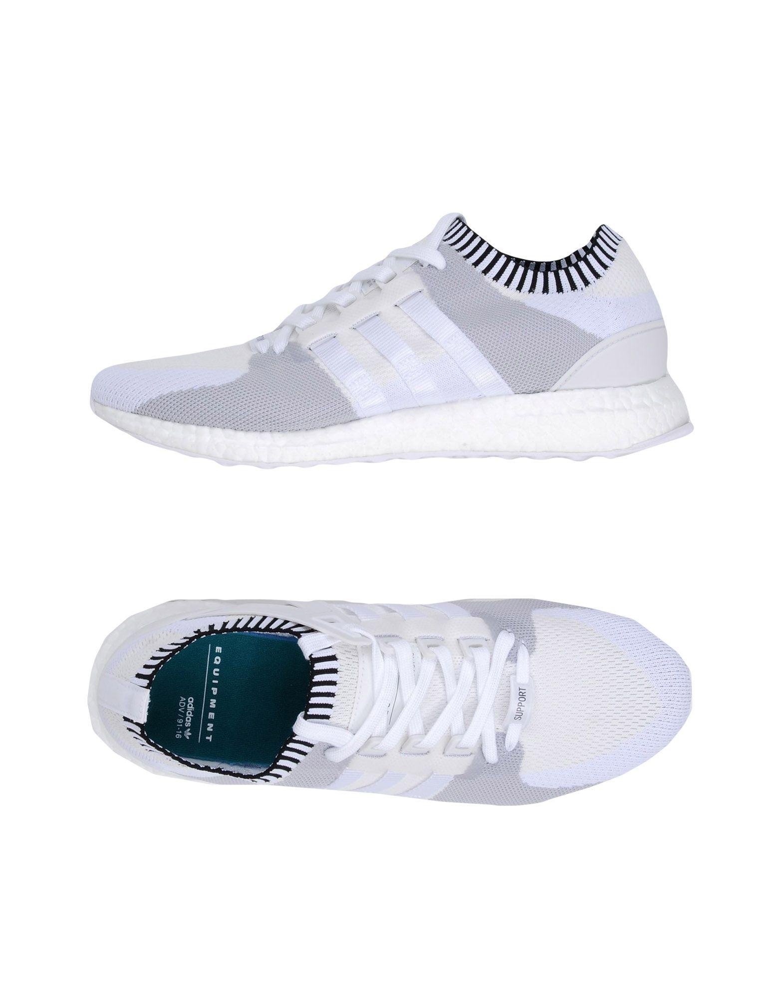 Baskets Adidas Originals Eqt Support Ultra P - Homme - Baskets Adidas Originals  Blanc Remise de marque