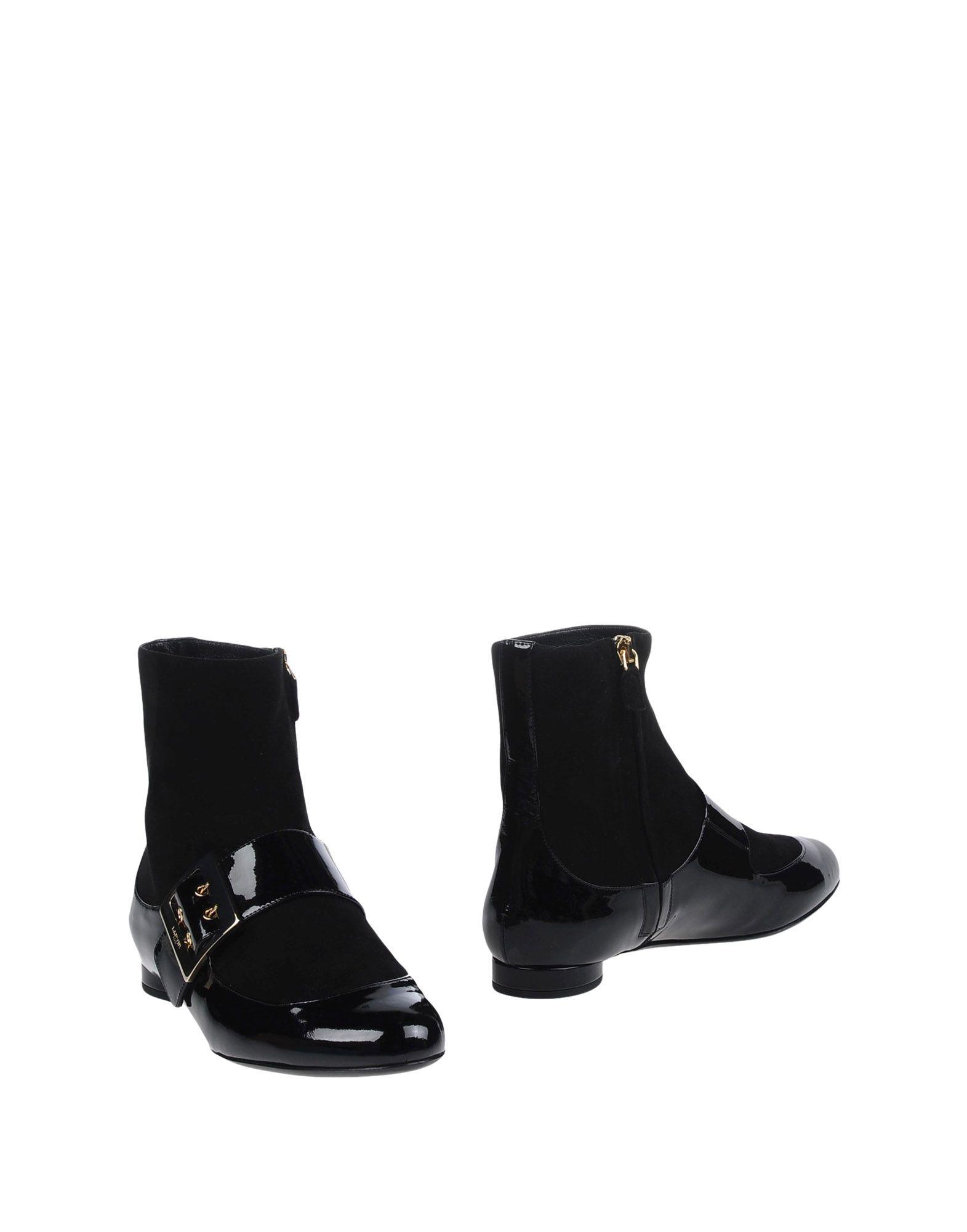 Haltbare Mode billige Schuhe Lanvin Stiefelette Damen  11272946RJ Heiße Schuhe