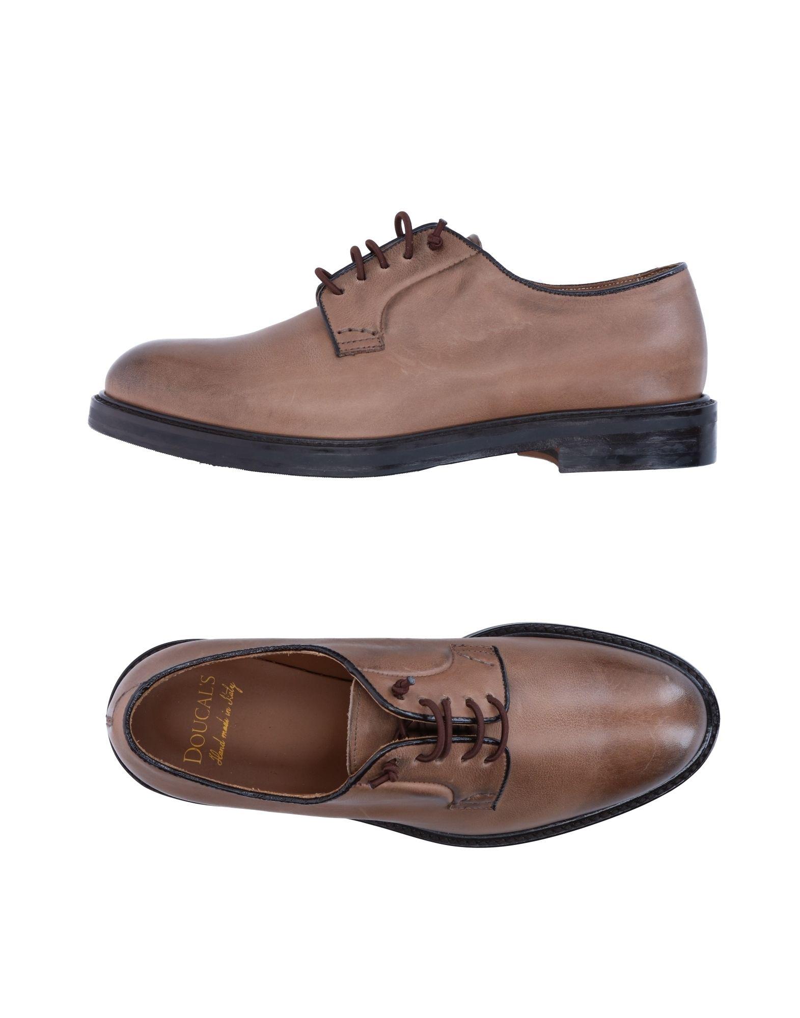 Stilvolle billige Schuhe Doucal's Schnürschuhe Damen  11273127QE