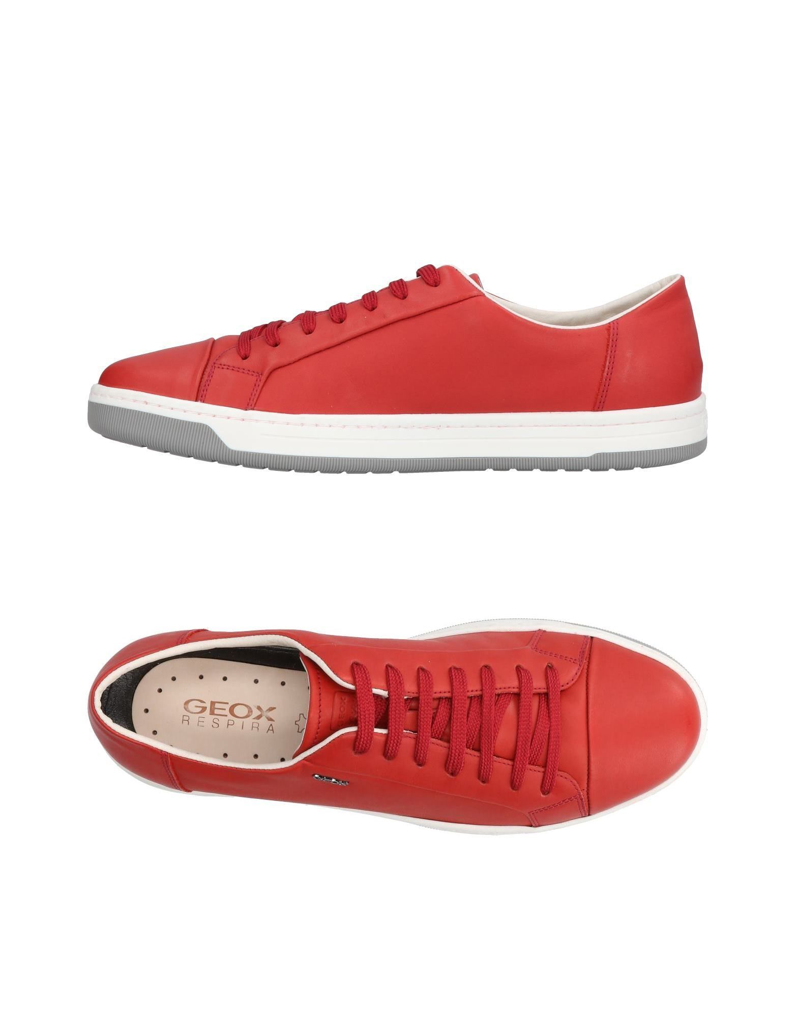 Sneakers Geox Homme - Sneakers Geox  Rouge Confortable et belle