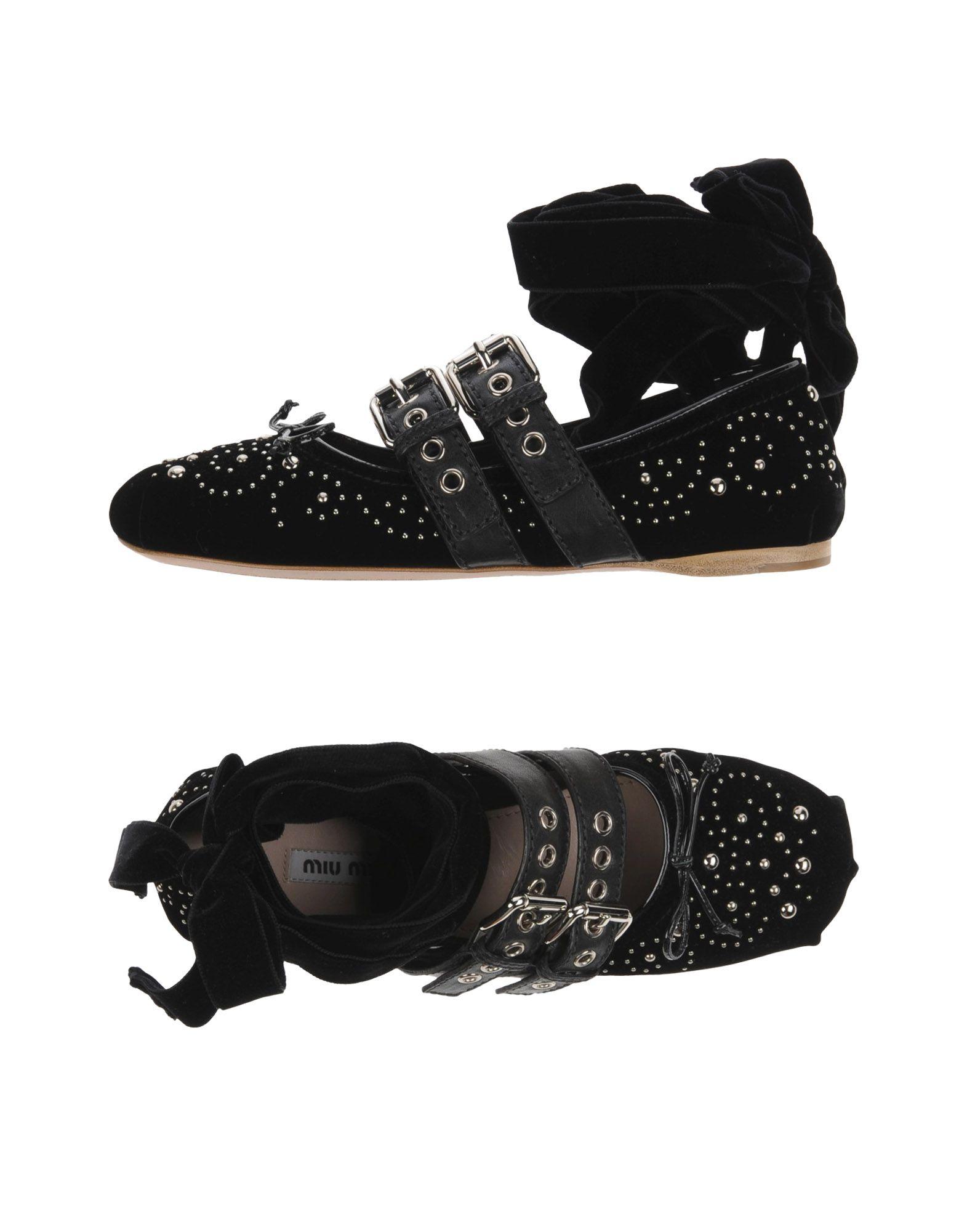 Miu Miu Ballerinas Damen  11274945FJGünstige gut aussehende Schuhe