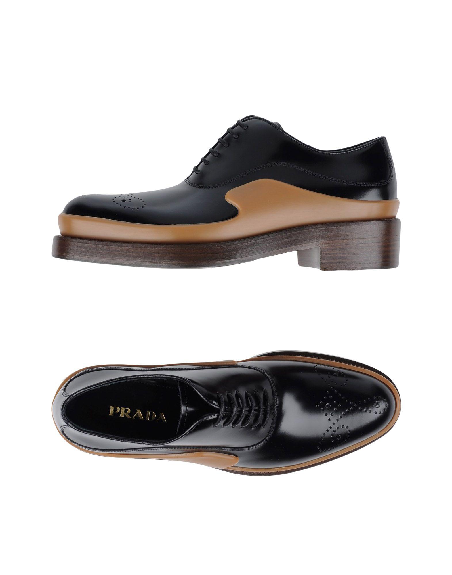 Prada Schnürschuhe aussehende Damen  11276311IVGünstige gut aussehende Schnürschuhe Schuhe 12cd9c
