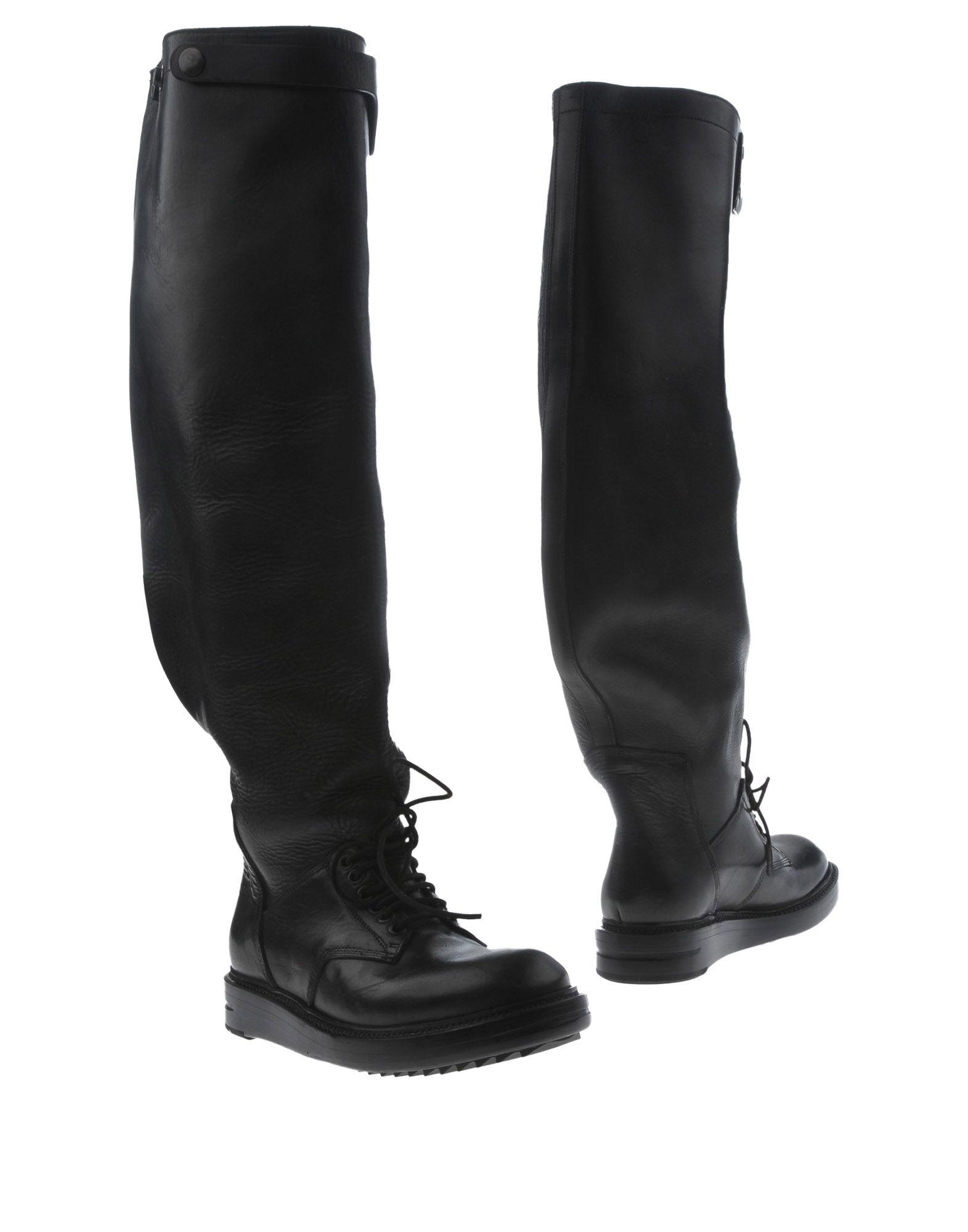 Rick Owens Neue Stiefel Damen  11276362HB Neue Owens Schuhe ae31d5