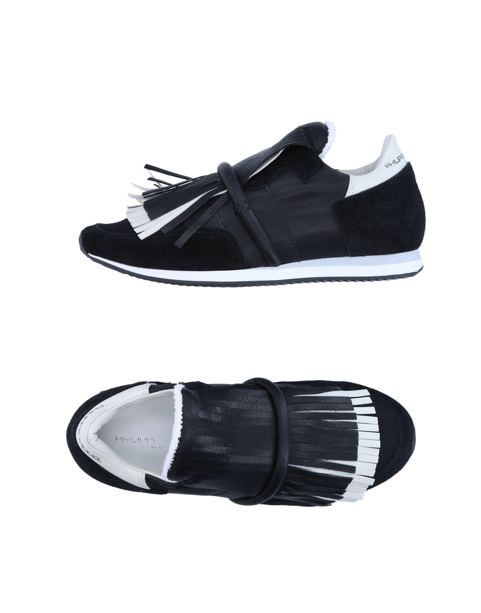 Recortes de precios estacionales, beneficios de descuento Philippe Zapatillas Philippe descuento Model Mujer - Zapatillas Philippe Model  Negro abe202