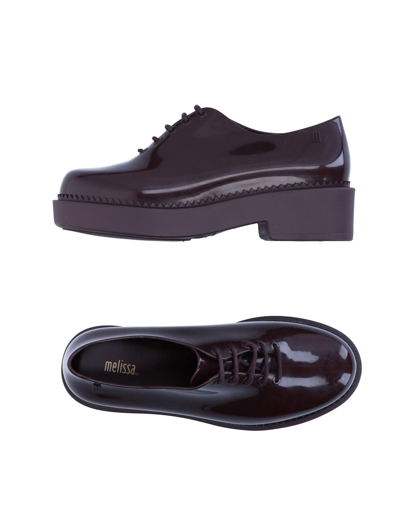 Günstige und modische Schuhe Melissa Schnürschuhe Damen  11277746JA
