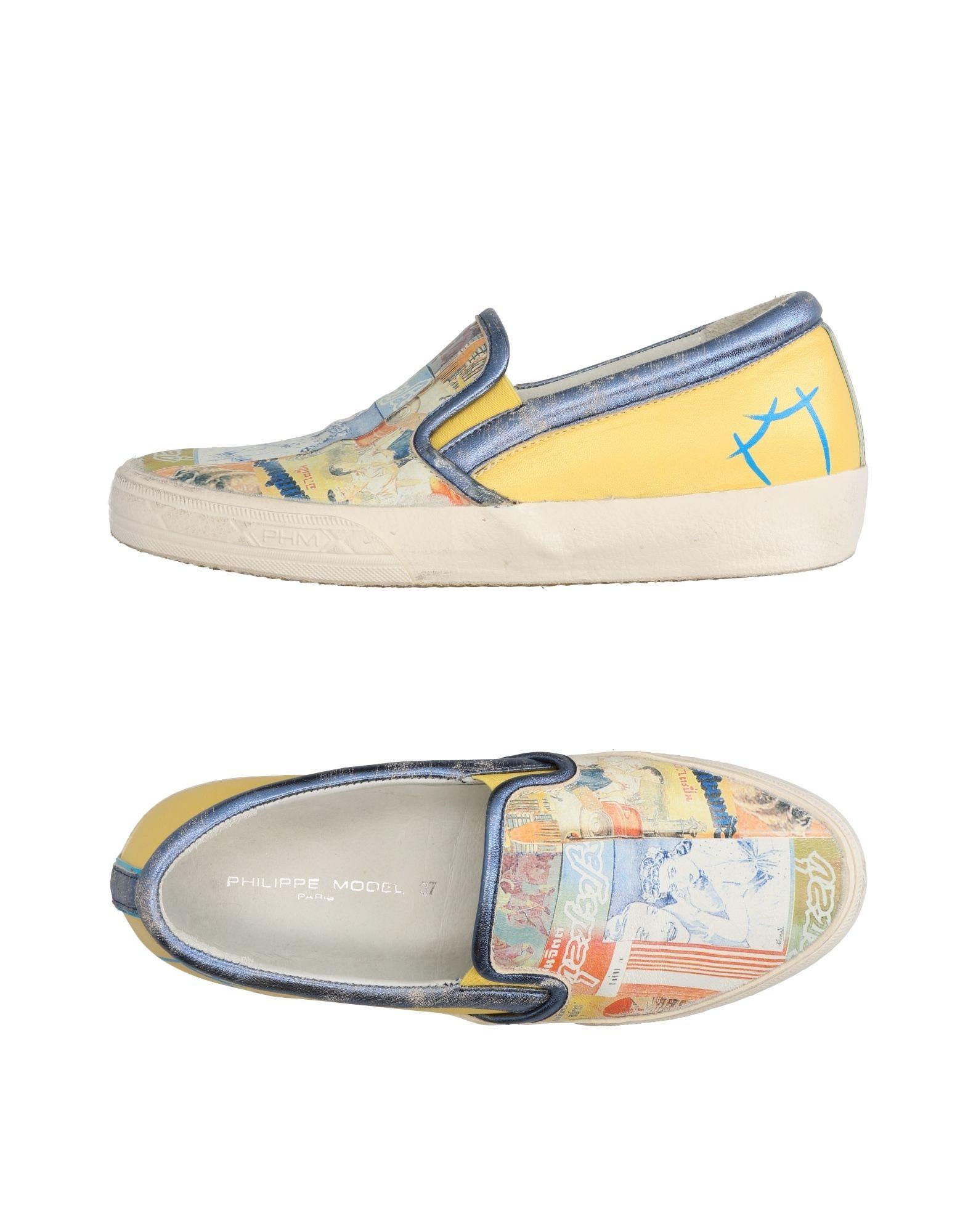 Stilvolle billige Damen Schuhe Philippe Model Sneakers Damen billige  11278228QA 220710