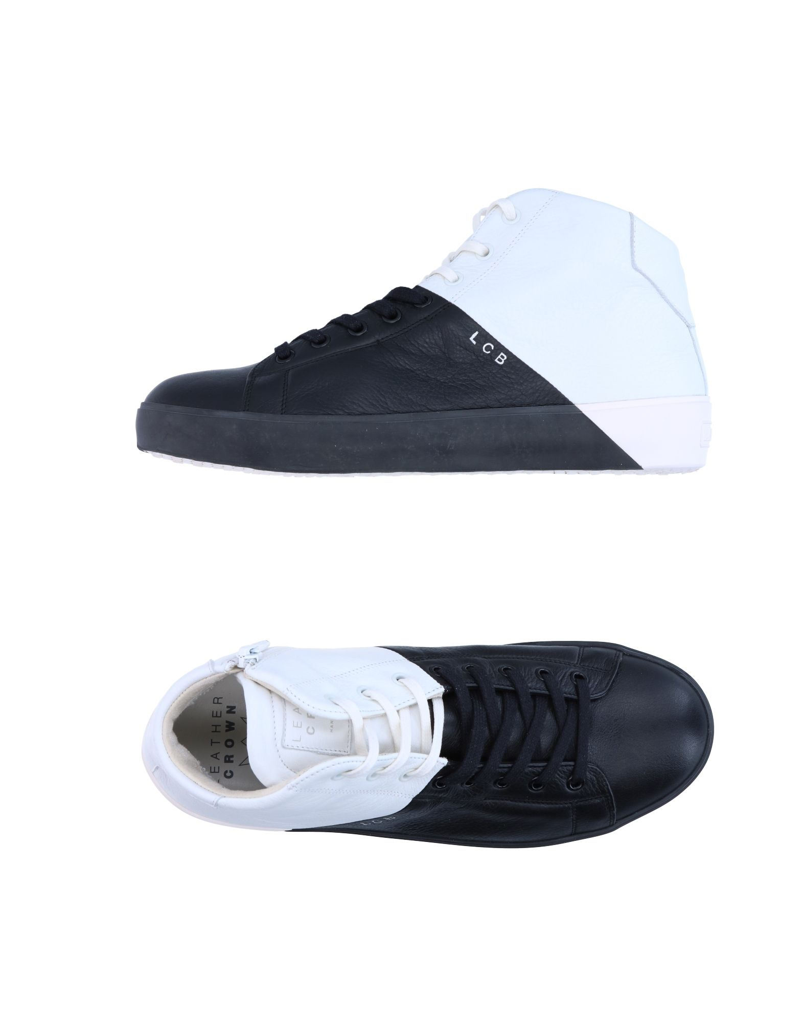 Sneakers Leather Crown Uomo - 11278683BN