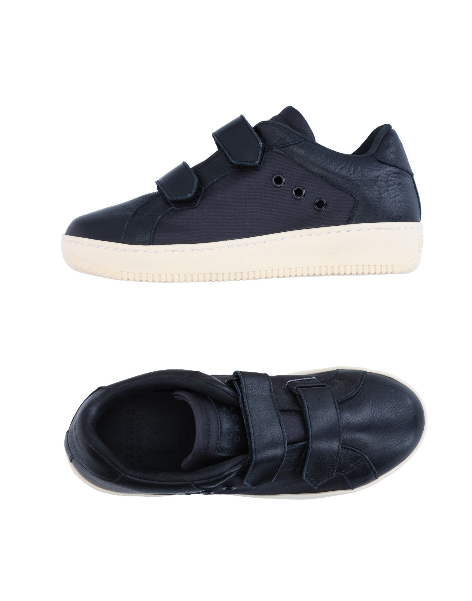 Sneakers Leather Crown Donna - 11278898BV