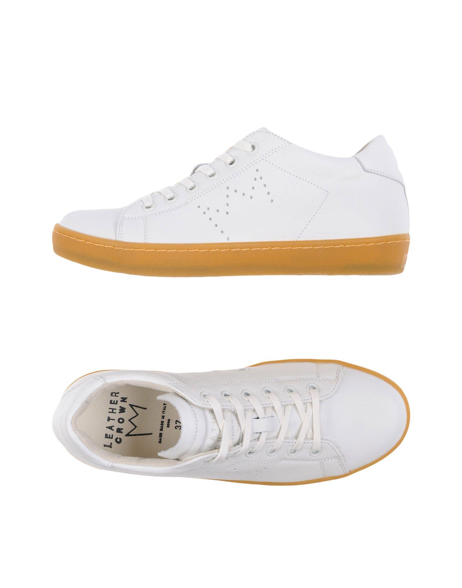 Stilvolle billige Schuhe Schuhe Schuhe Leather Crown Sneakers Damen  11278982PM ddf8b1