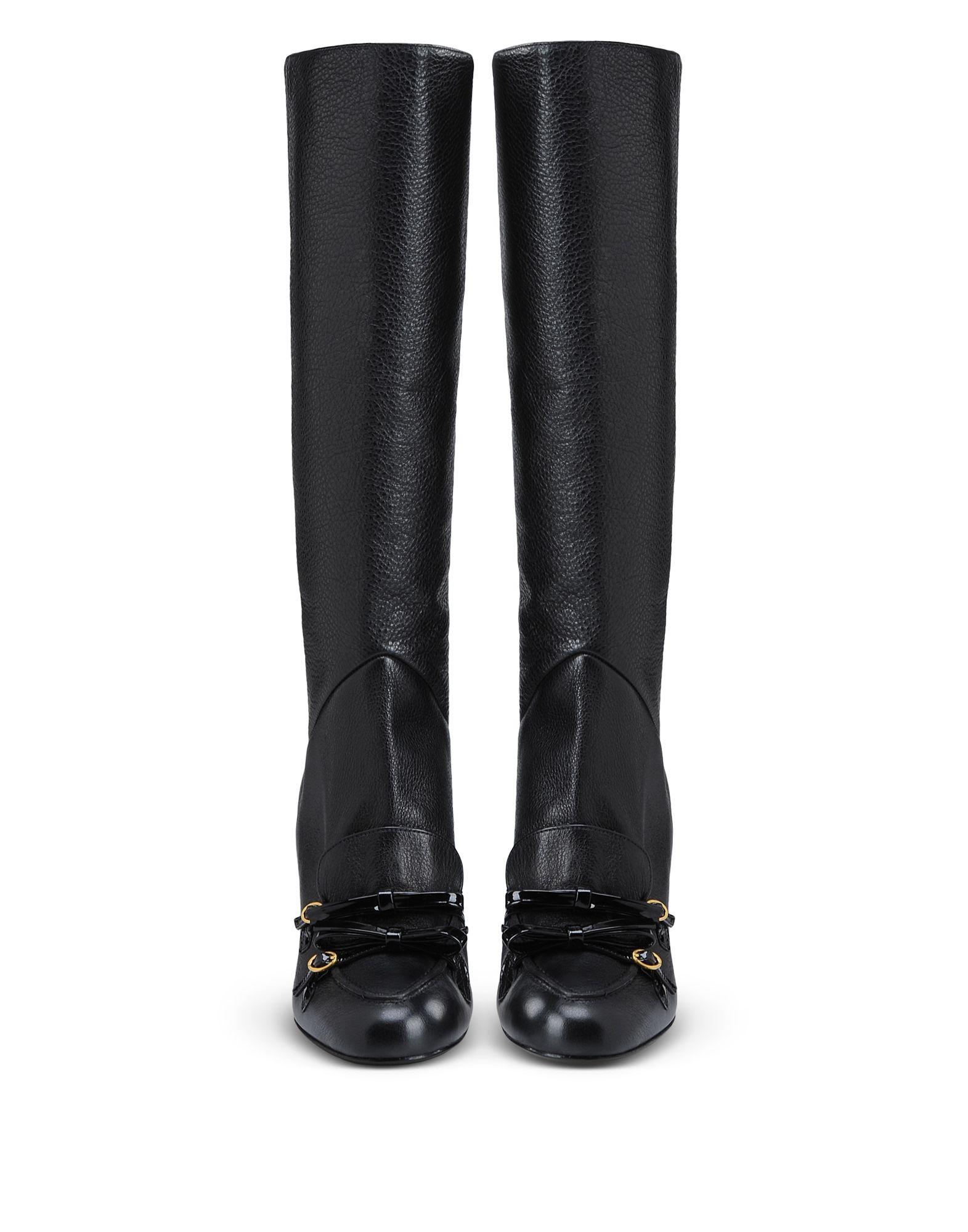 Boutique Moschino Stiefel Damen  11280384PX Neue Schuhe