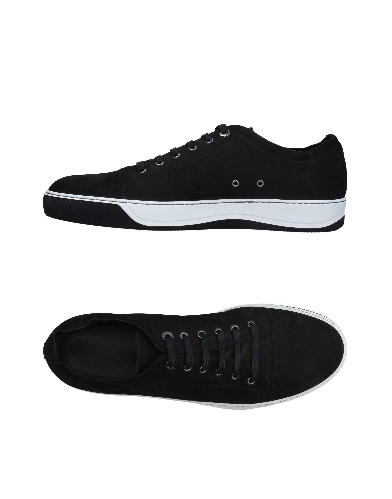 Sneakers Lanvin Homme - Sneakers Lanvin  Noir Réduction de prix saisonnier, remise
