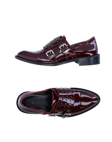 HAVVA Loafers in Maroon