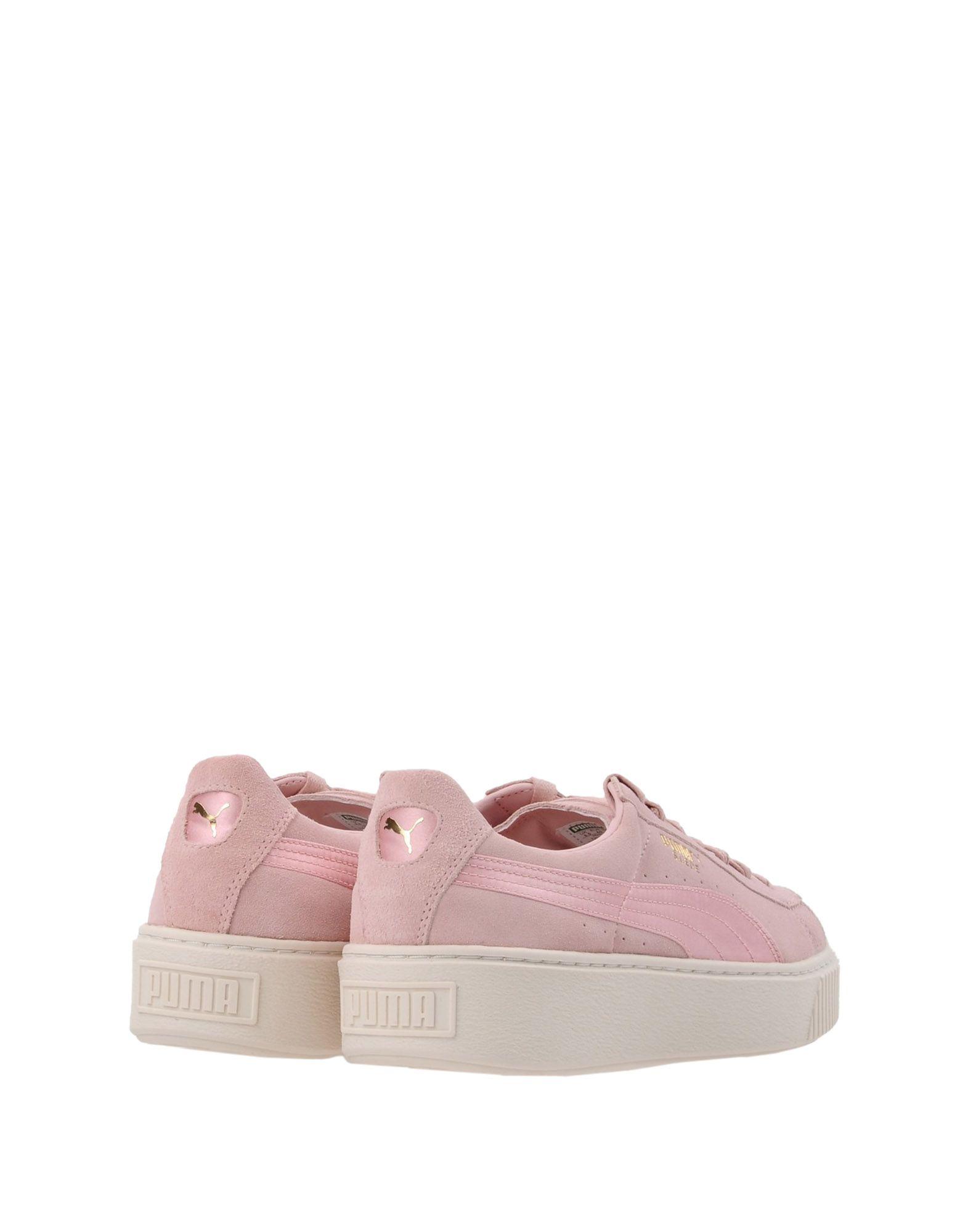 Sneakers Puma Suede Platform Satin - Femme - Sneakers Puma sur