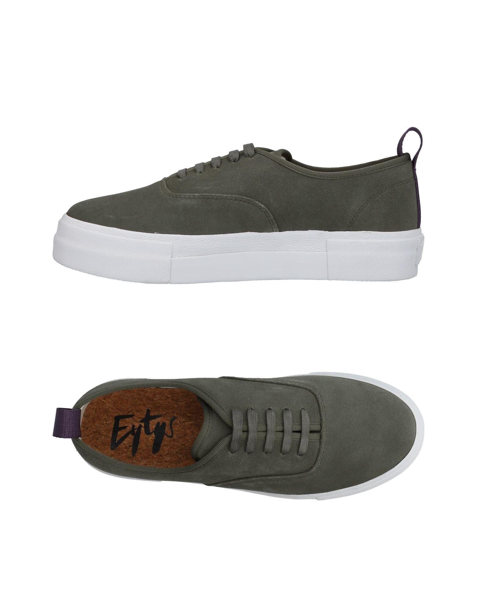 Sneakers Eytys Homme - Sneakers Eytys  Vert militaire Mode pas cher et belle