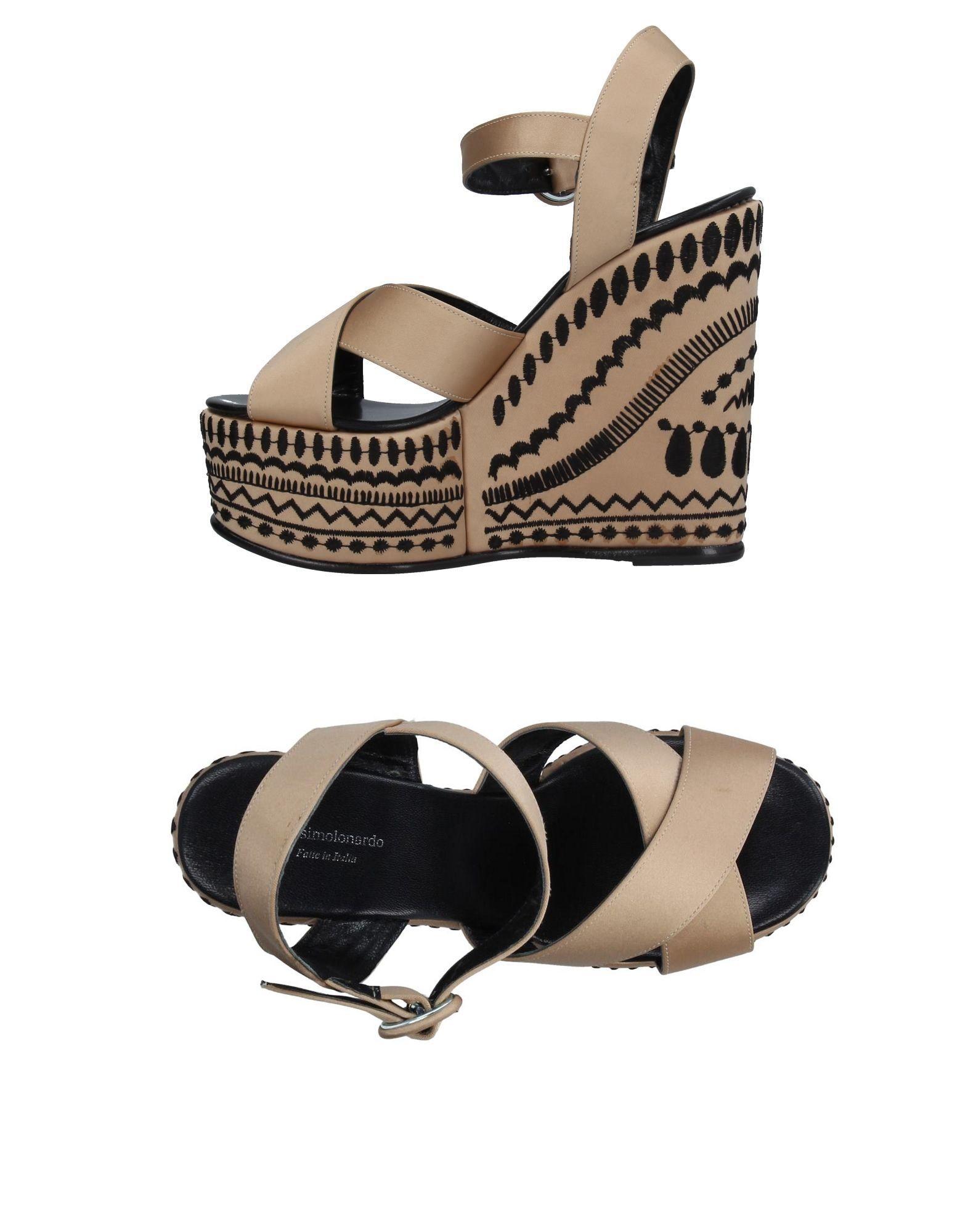 Gut um billige Schuhe zu tragenMassimo Lonardo Sandalen Damen  11283185EO