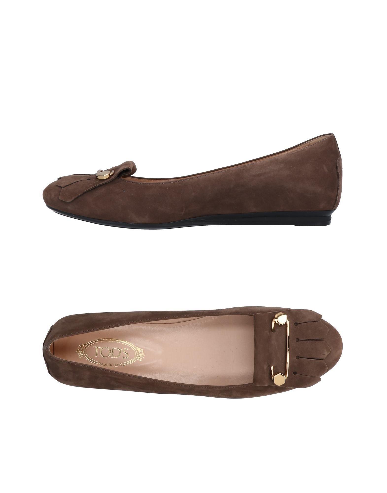 Tod's Ballerinas Damen  11283650JSGut aussehende strapazierfähige Schuhe