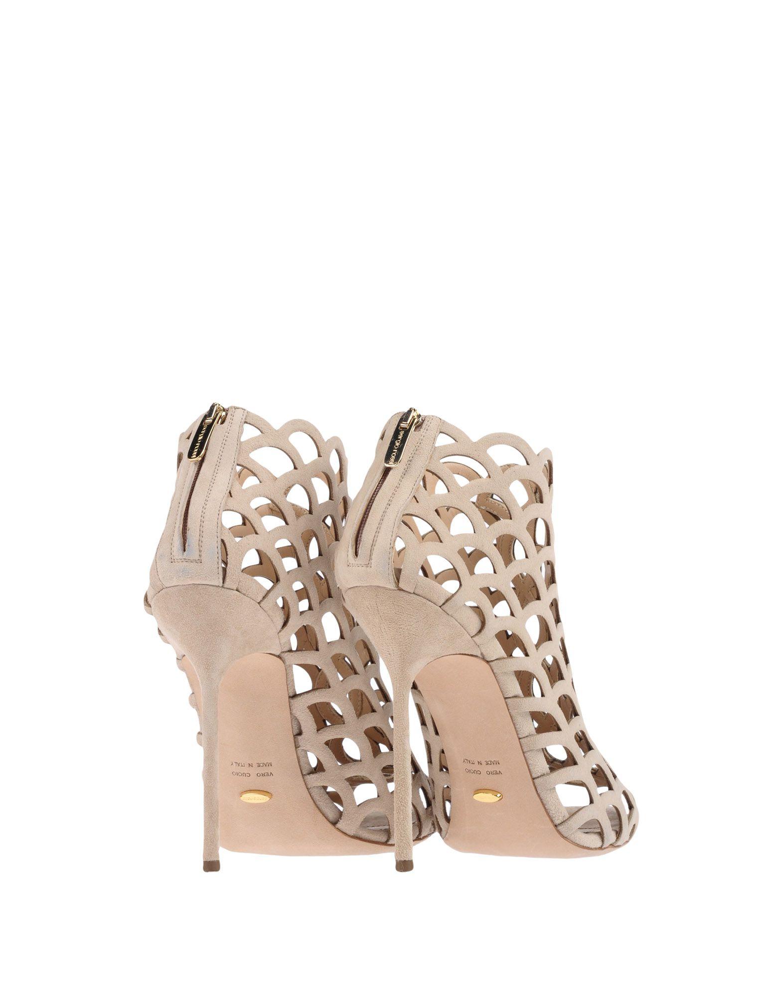 Sergio Rossi Stiefelette aussehende Damen  11283783CNGünstige gut aussehende Stiefelette Schuhe 5043e1