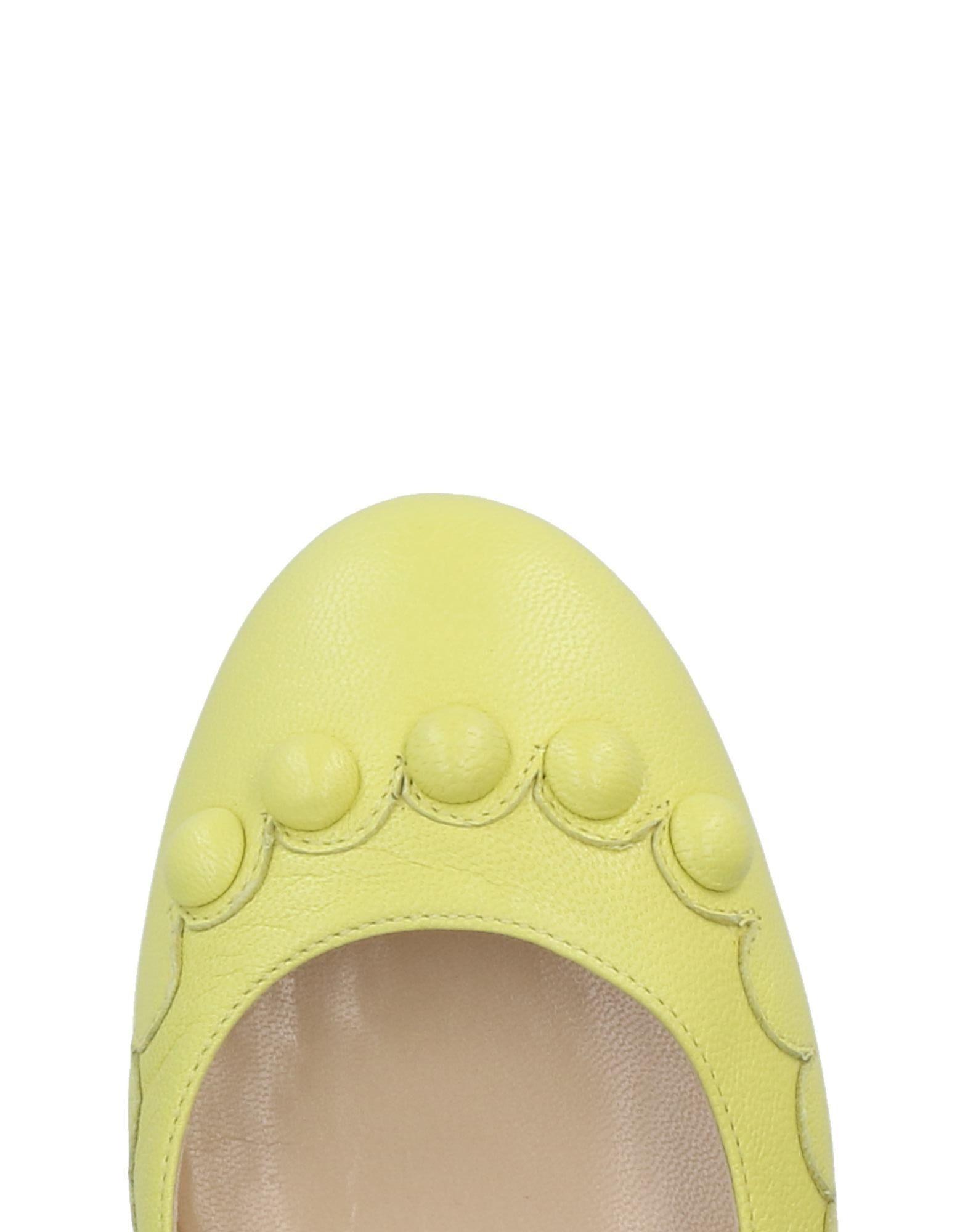 Moschino Ballerinas aussehende Damen  11284084BVGünstige gut aussehende Ballerinas Schuhe 85e4a7
