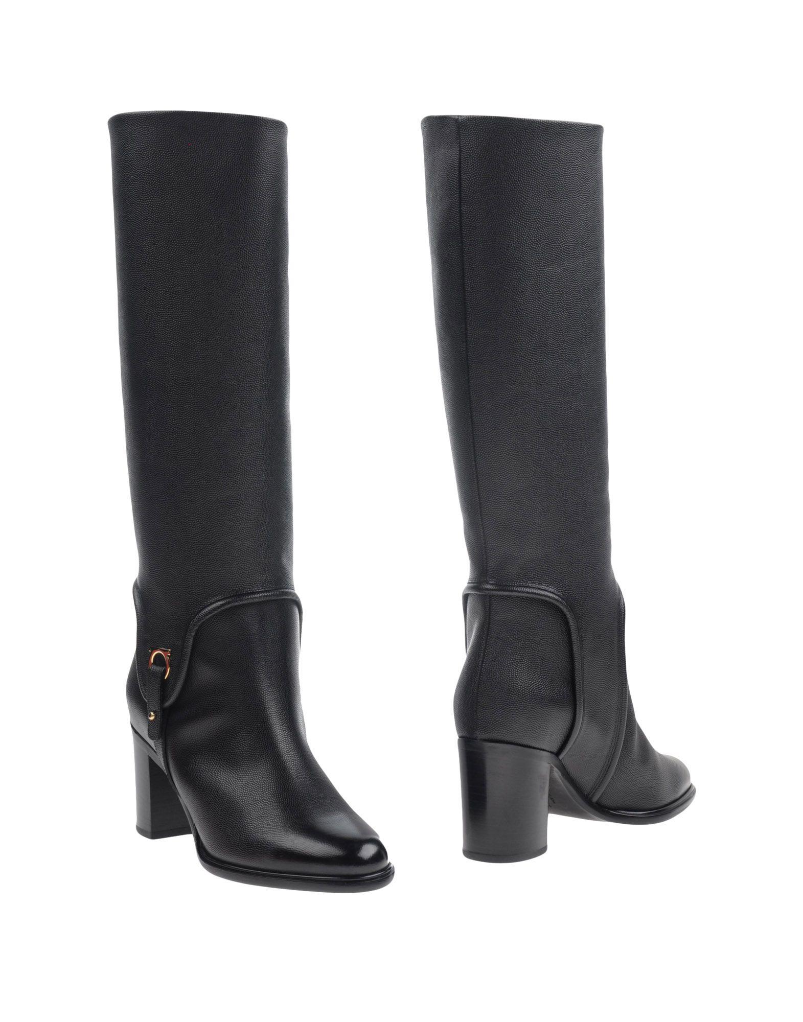 Salvatore Ferragamo Stiefel gut Damen  11284196CXGünstige gut Stiefel aussehende Schuhe d56df8