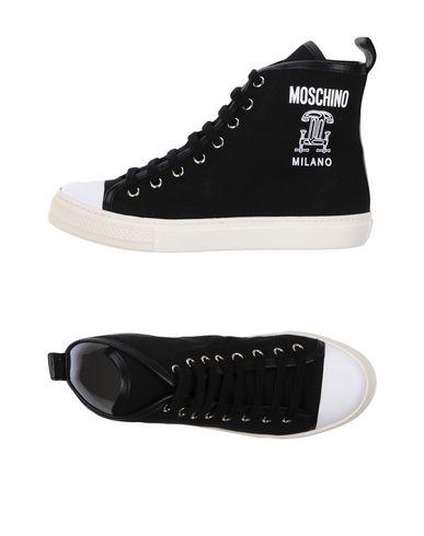 Moda Moda Moda barata y hermosa Zapatillas Moschino Mujer - Zapatillas Moschino Negro 27d147