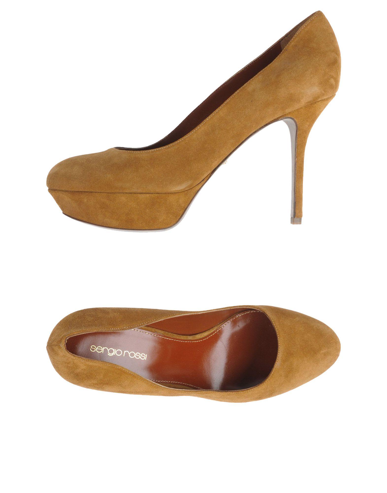 Stilvolle billige Schuhe Sergio Rossi Pumps Damen  11284585QR