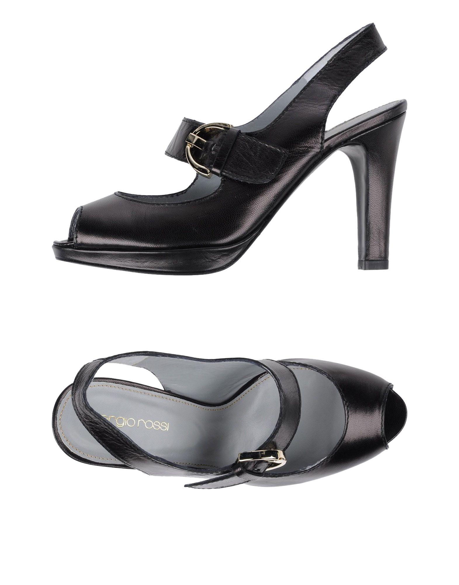 Stilvolle billige Schuhe Sergio Rossi Sandalen Damen  11284854BU