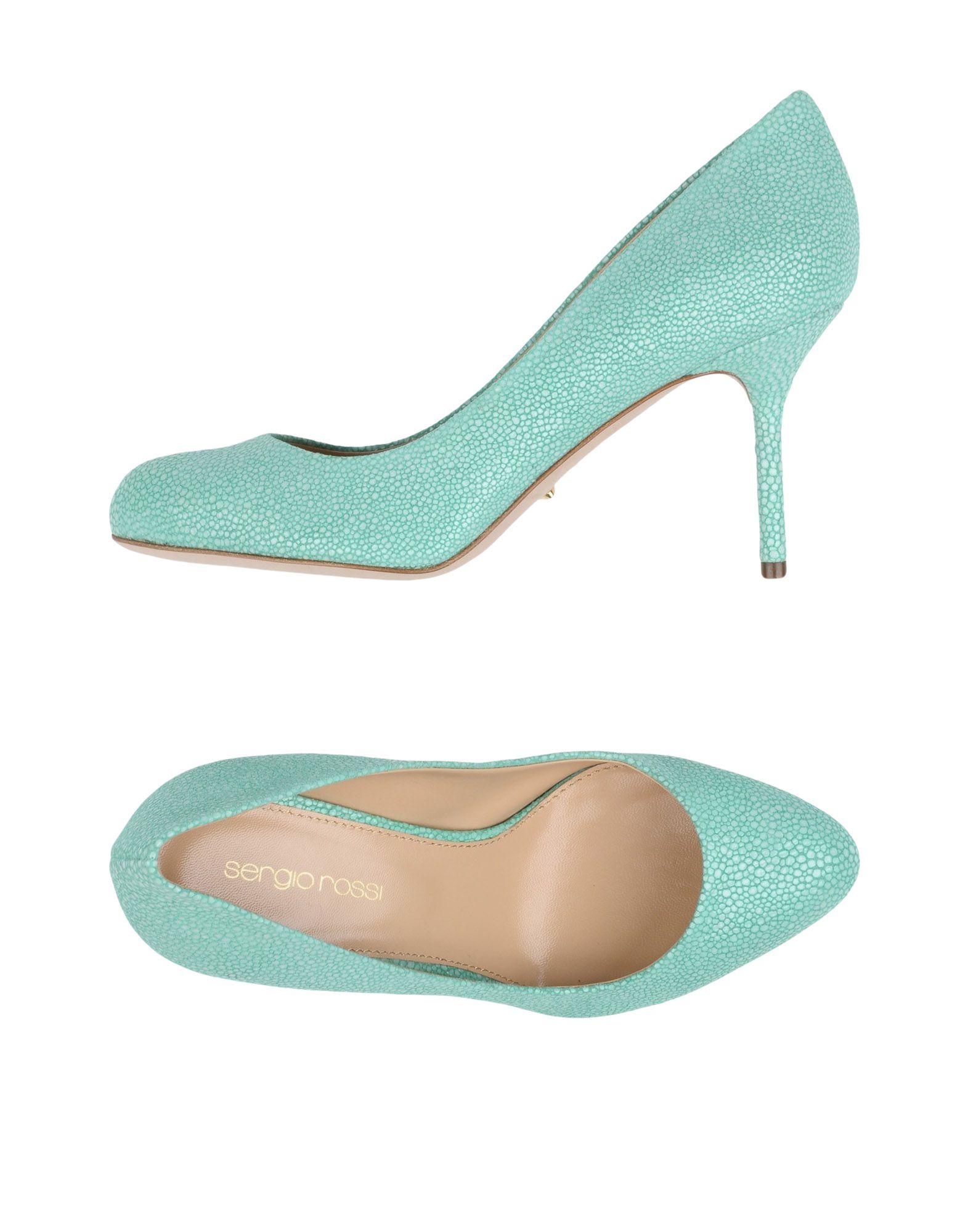 Stilvolle billige Schuhe Sergio Rossi Pumps Damen  11284894AR