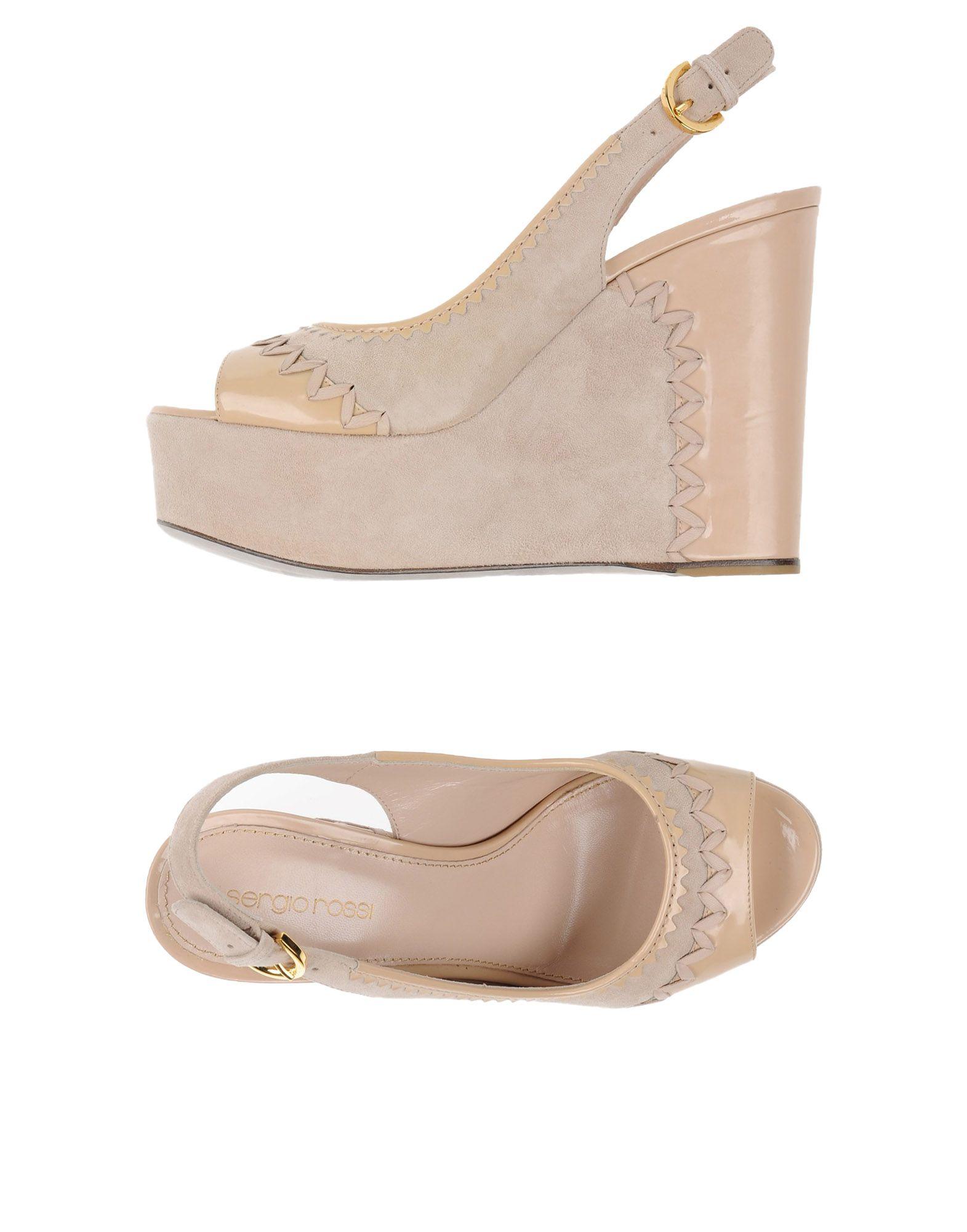 Sergio Rossi Sandalen Damen  11285219QG Neue Schuhe