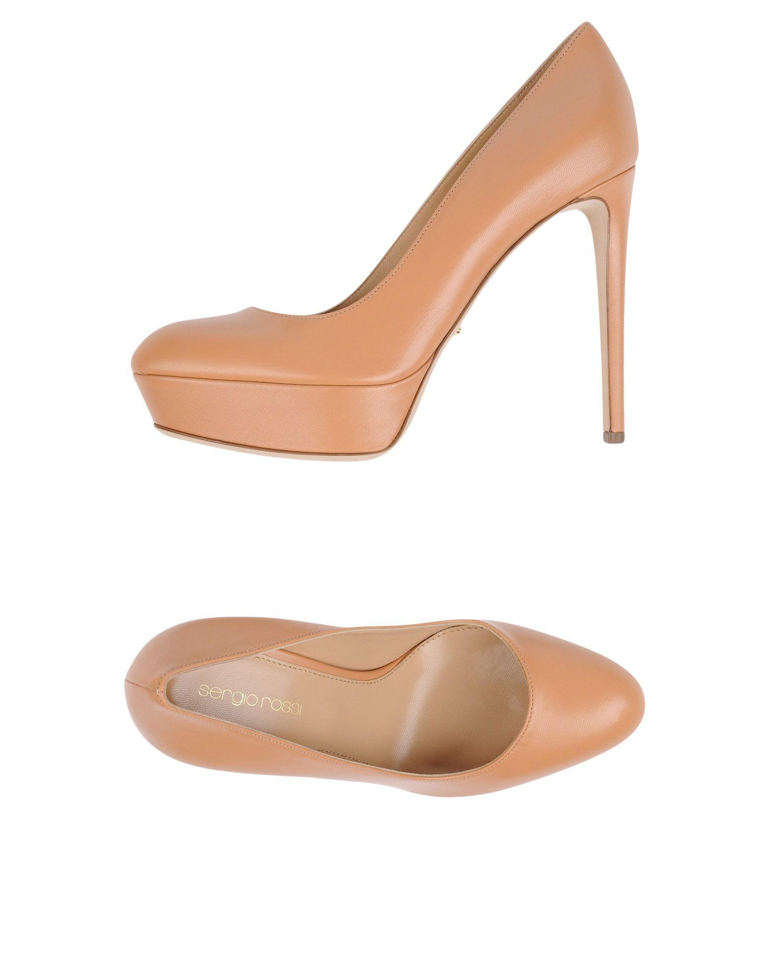 Stilvolle billige Schuhe Sergio Rossi Pumps Damen  11285320OW