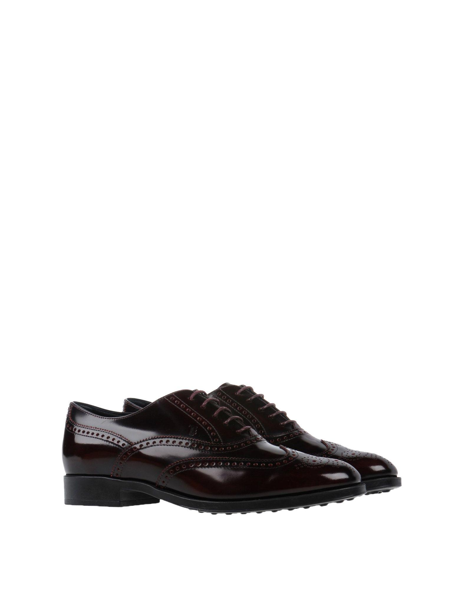 Rabatt Schuhe Schnürschuhe Tod's Schnürschuhe Schuhe Damen  11285442RR 894d76
