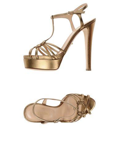 Los últimos hombres zapatos de descuento para hombres últimos y mujeres Sandalia Sergio Rossi Mujer - Sandalias Sergio Rossi - 11286594VQ Oro 79dc2f