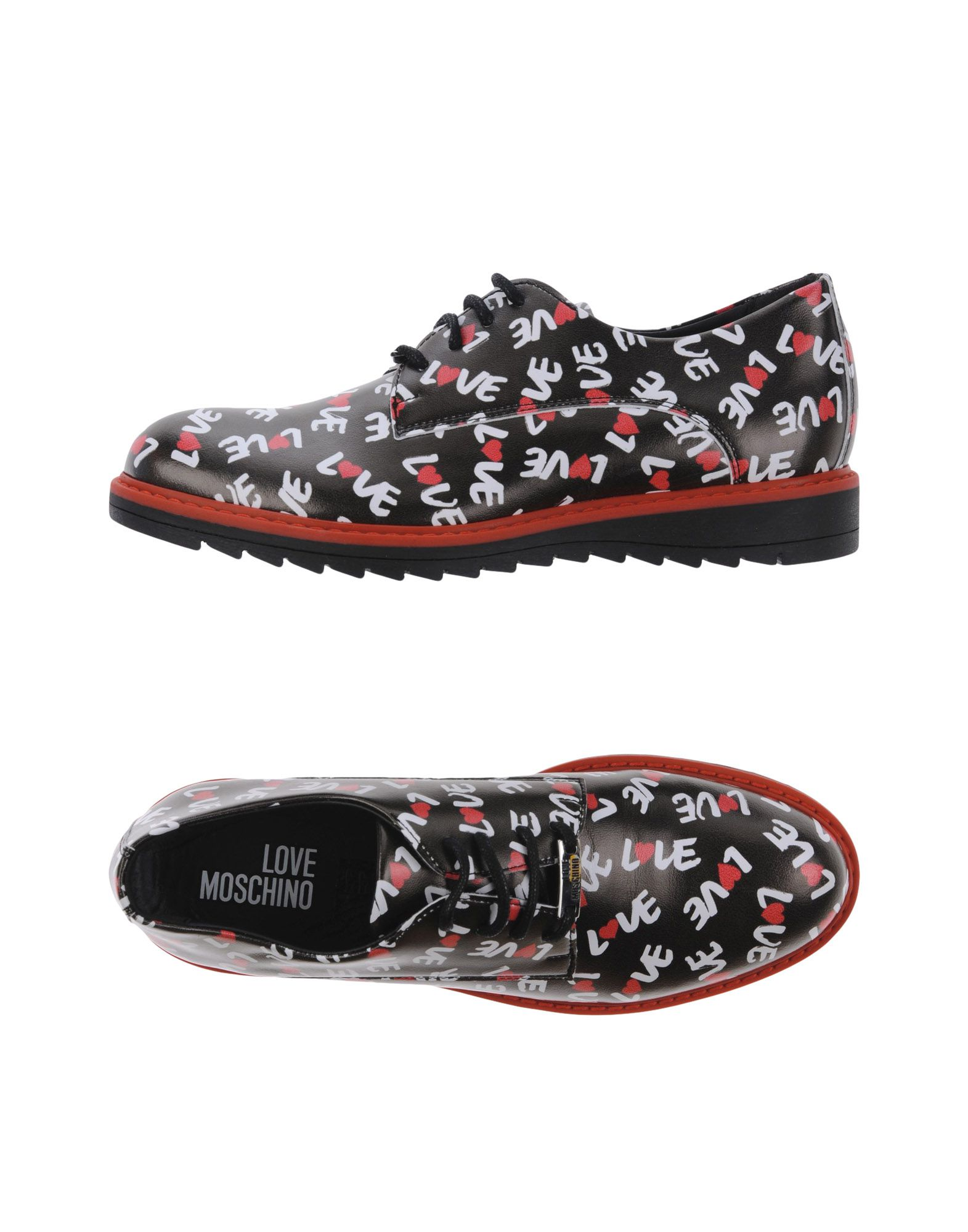 Chaussures À Lacets Love Moschino Femme - Chaussures À Lacets Love Moschino sur