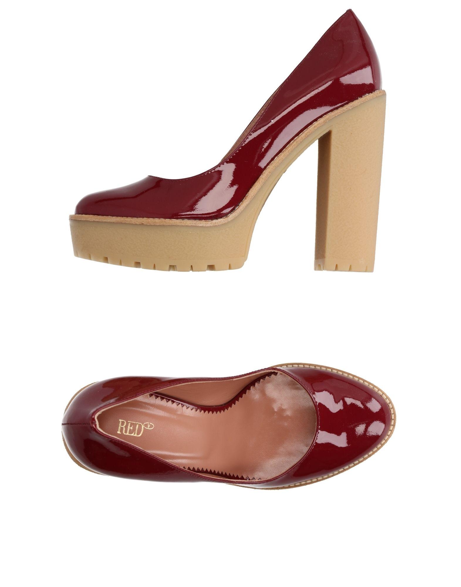 Moda Décolleté Red(V) Donna - 11286982HC