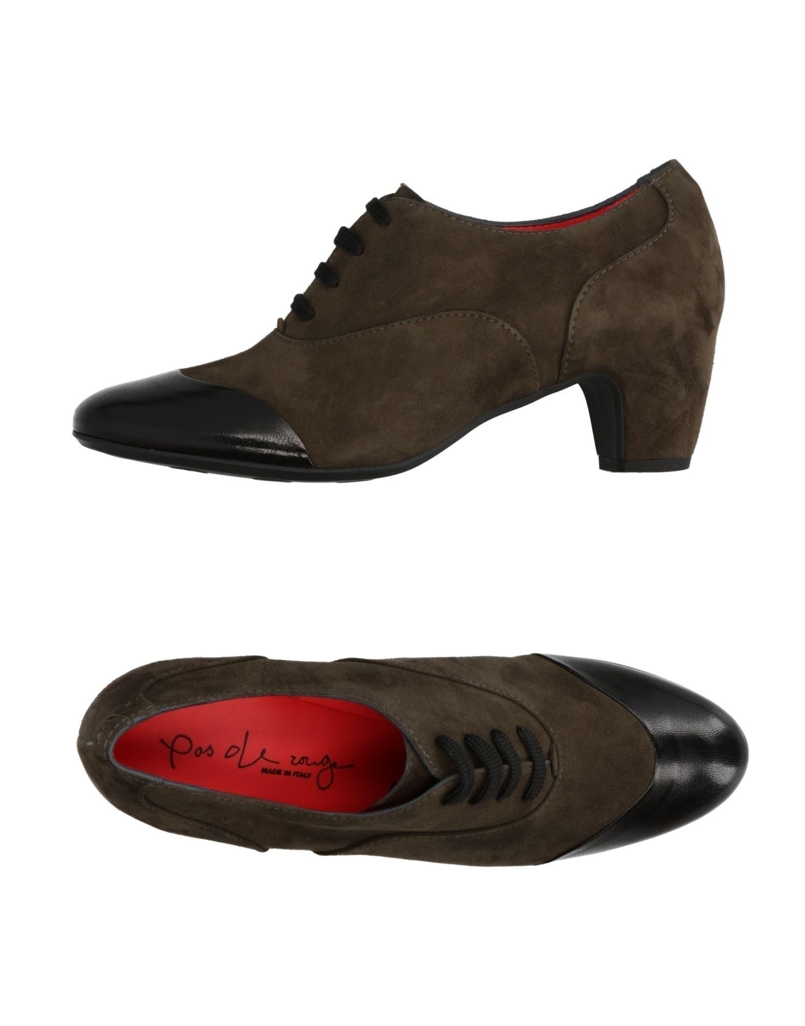 Pas De Rouge Schnürschuhe Damen  11287716SW Gute Qualität beliebte Schuhe