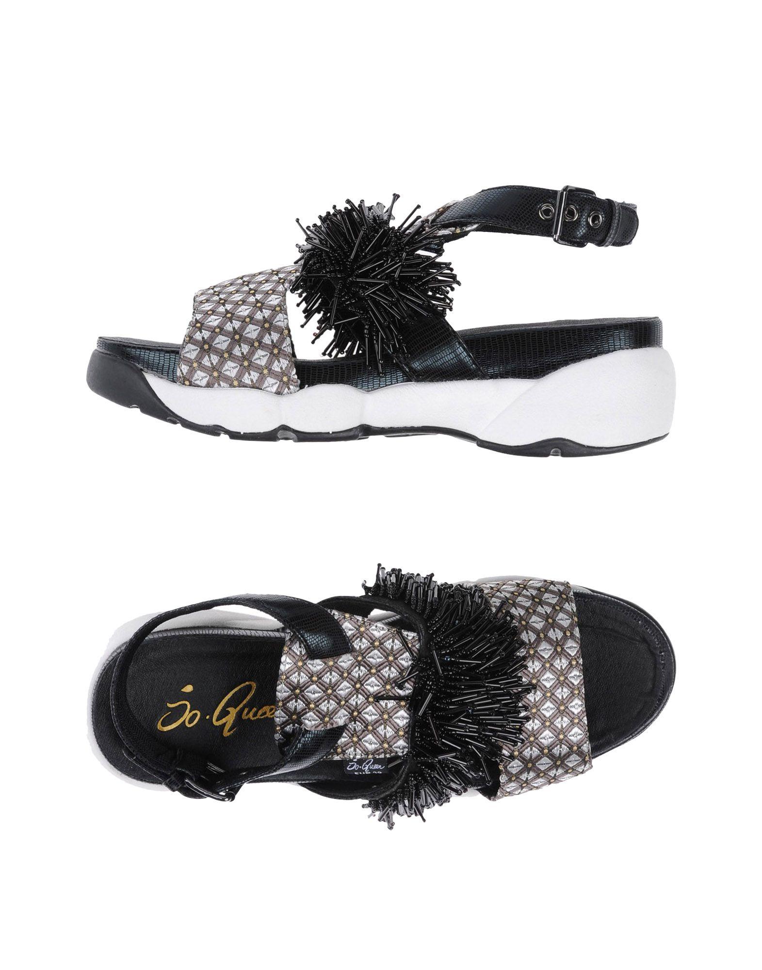 Günstige und modische Schuhe So•Queen Sandalen Damen  11287863IT